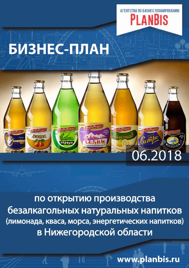 Бизнес-план по производству безалкогольных напитков в Нижегородской области