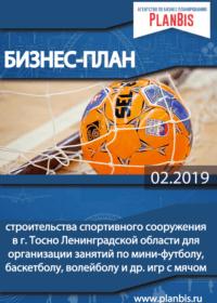Бизнес-план строительства спортивного сооружения в Ленинградской области